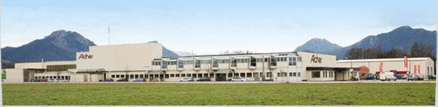 Firmensitz in Raubling/Oberbayern